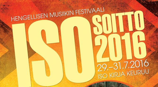 Iso soitto / Youth celebration Isossa Kirjassa